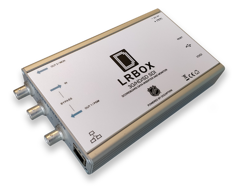 LRBox scoreboard data encoder and decoder
