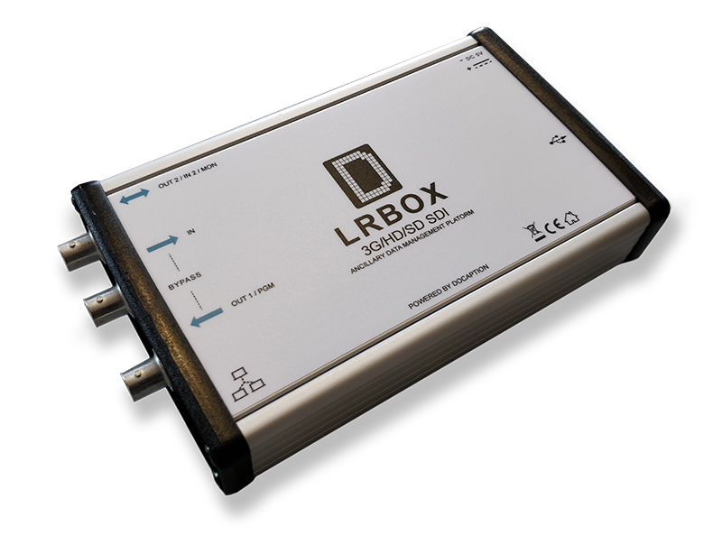LRBox subtitles encoder, inserter, decoder and monitor